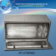 upright Large size aluminium tool box