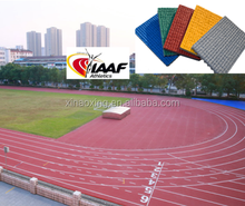 IAAF Approved Tartan Running Tracks For 400 Meter Standard Sports Stadium