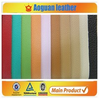 2016 Wholesale Faux Leather Fabric For