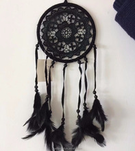 Hot selling bali feather dream catcher supplies