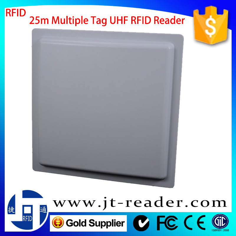 Iso18000-6C 20M Long Distance Impinj R2000 Chip Multiple Tags Reading Uhf Rfid Card Reader Writer For School Attendance System