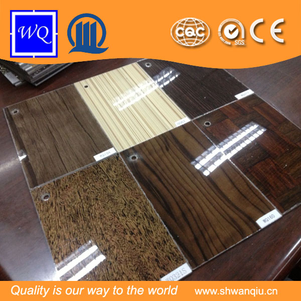 Colorful HPL sheet/UV pattern HPL laminated board