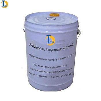 One Component Hydrophilic Urethane Chemical Grout Material