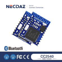 Programmable bluetooth PCB antenna module with TI CC2540 software