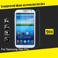 2.5D curved tempered glass screen protector for Samsung Galaxy Star Pro S7260 S7262 tempered glass screen protector wholesale