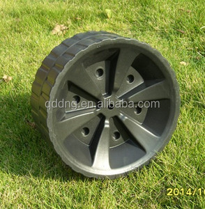 "foldable wagon wheel 10"" plastic wheel"