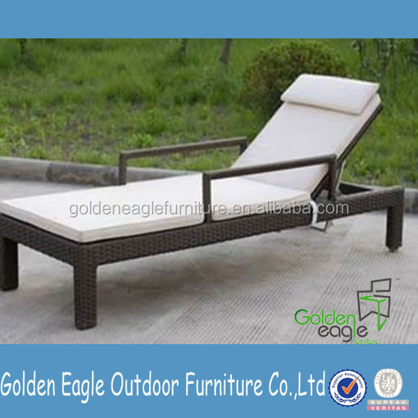 Durable Patio Furniture Sgs Pe Rattan Homey Sunbed View