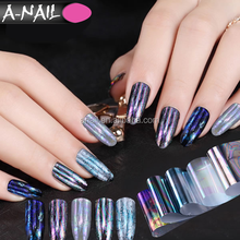Newest Fashion 120 M/ROLL Nail Art Transfer Sticker Paper Glitter Tips Manicure DIY Starry Sky Nail Foils