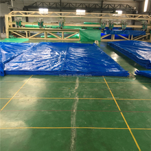 Heavy Duty Tarps with UV Treated / HDPE Blue / White PE Tarpaulin for Truck Cover / Car / Tent / Boat China Factory
