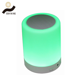 Promotional Portable Wireless Speakers With Mini Speaker Led Table Desk Lamp