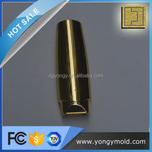fashion upscale plastic injection molded plated plastic cylinder pieces