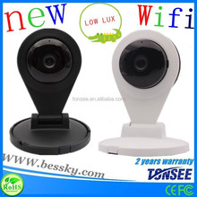 indoor wireless 720p 24 hours recording baby monitor ip camera with night vision
