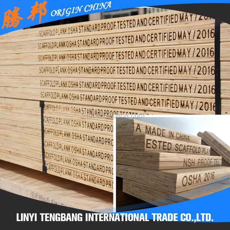 Hot Selling Low Price Laminated Plank Pine Plywood