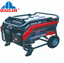 HAILIN CHINA 170F 5kw kva Self Running Fuel Less small dc generator set