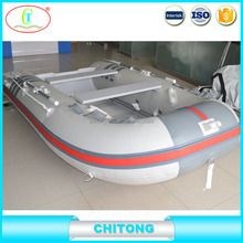 Small Coastal Rowing Boat With Plastic Paddles