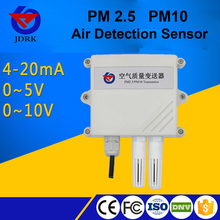 2017 0-5V output Laser scattering test dust pm2.5 pm10 sensor
