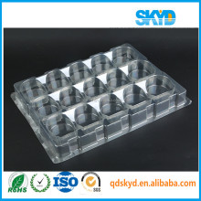 Custom cheap PVC/PET/PS clear vacuum forming plastic display tray for electronics