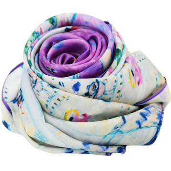 designer scarf wholesale china twill silk scarf suzhou
