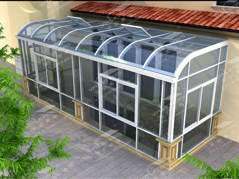 2017 factory custom aluminum lowes sunrooms and patio for Sunroom and patio designs