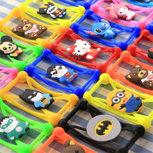 Moblie Phone Accessories Silicone Cartoon Character Cell Phone Case