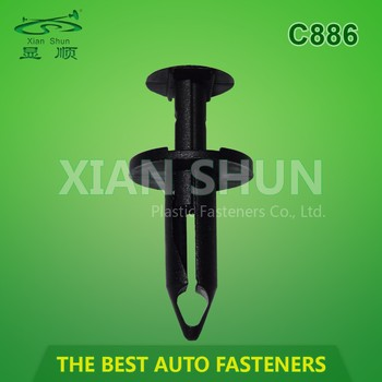 High Quality Automotive Plastic Fasteners factory supply C886