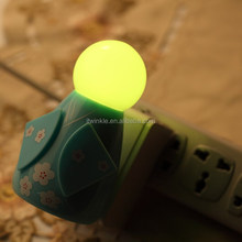 Plug in LED sensor night light with high quality led kids nightlight