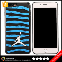Keno NBA Sport Star Slim Thin Soft Silicone Jordan Phone Case for iPhone 7 Plus