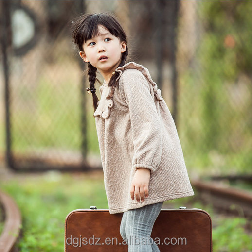 Children frock for autumn/winter Korean style girls dress cute frocks for baby girl