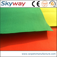 Hot sale factory supply best selling stripe carpet for outdoor playground