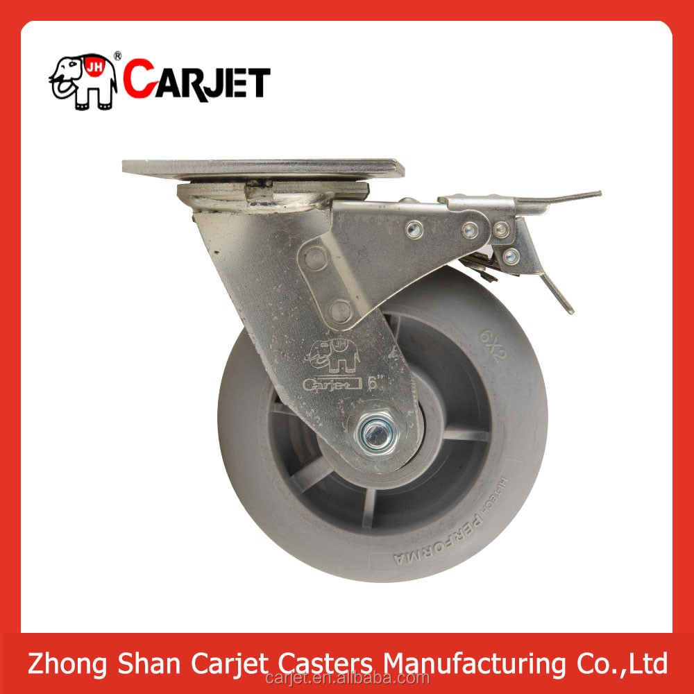Factory directly heavy duty ball bearings roller caster wheel
