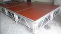 1.22*1.22 Meter adjustable high :0.6-1.0 Meter with waterproof anti-slip plywood stage floor