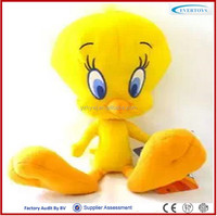 plush bird plush animal tweety bird plush toy