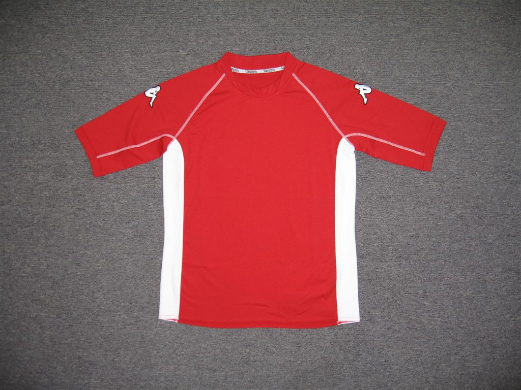 Low price Mens 100% polyester soccer panel jersey