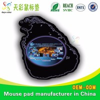 Cartoon Natural Rubber Foam Mouse Mat Pad Mousepad Calculator With Speaker And Usb Hub
