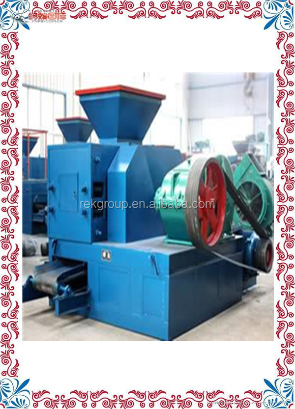 Conventional Professional coal briquetting plant/coal ball press machine/coal slurry briquette machinefor sale with CE approved