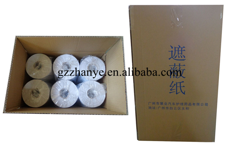 Car Painting White Masking Paper Protection Paper