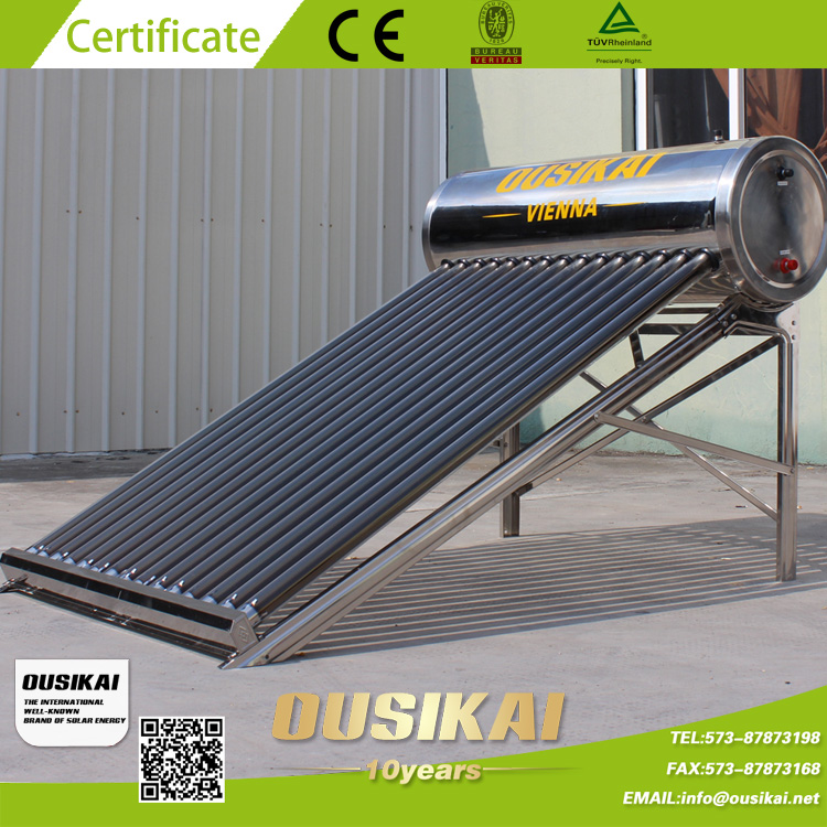 200/300 Liter Stainless Steel SUS-202-BA Solar Water Heater
