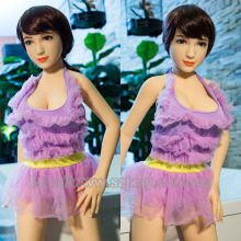 Japanese flat chest real sex doll,solid small breast cute love doll