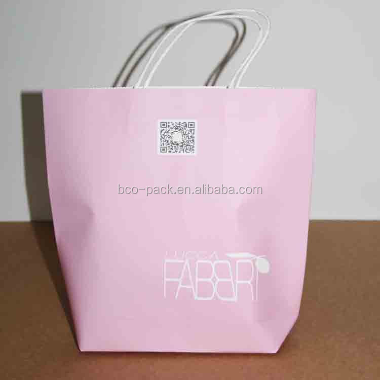 handbag shape handle paper gift bag