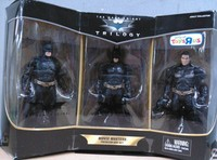 Batman The Dark Knight Trilogy Movie Masters Premium Box Set 3 figures Pack