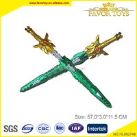 Custom boy non toxic plastic ABS cheap toy swords