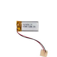 TAIWOO 170Mah Lithium Ion Battery 3.7V Battery 501530 Polymer