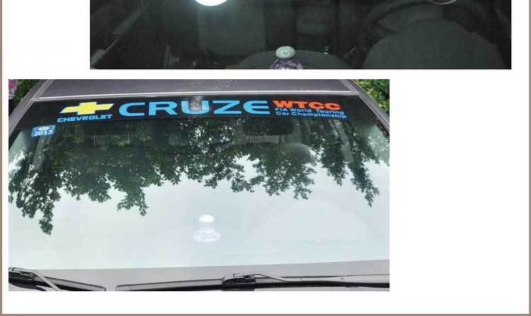 Newest Design of Car Windshield Stickers