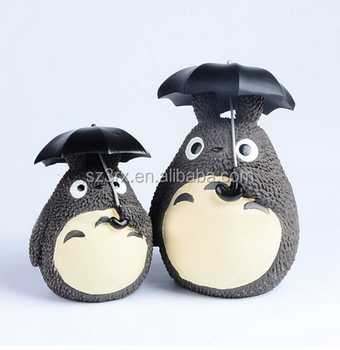 OEM Cartoon PVC Totoro Family Vinyl Decoration Toy,Vinyl Toys Custom Made,Customized Plastic toys Manufactures