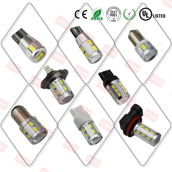 High quality 12V 24V led car lamp t10 w5w t20 1156 h4 h7 h8 h11 hb3 hb4 car led lamp to 6000LM super white