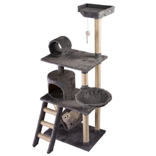 wholesale big wooden scratcher cat tree house