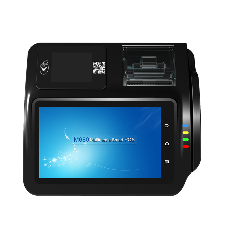 M680s_POS Terminal with Cash Drawer and PIN PAD