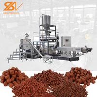 Automatic Floating Fish Feed Extruder Machine
