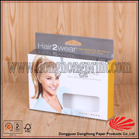 Full printing paper hair weave packaging box