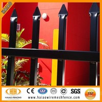 factory square tube iron fence for garden alibaba China